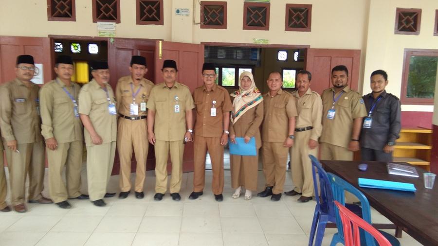 Memantau UNBK di MAN 1 Kuala Tungkal